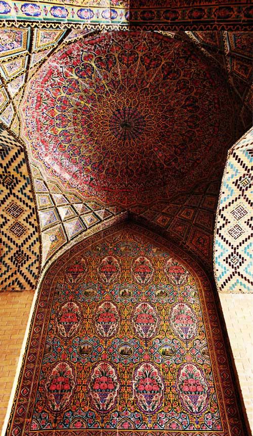 معماری زیبای سقف مساجد جهان