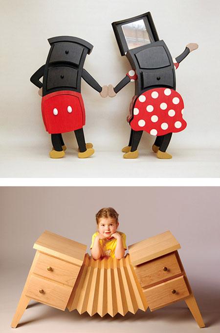 مبلمان اتاق کودک - کمد اتاق بچه