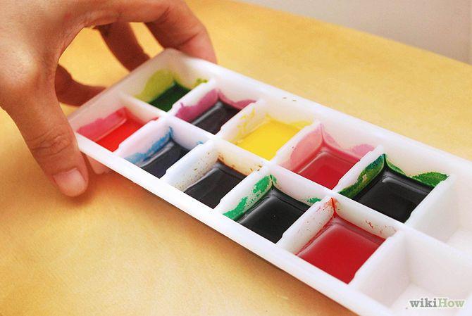 تهیه آبرنگ خوراکی برای نقاشی روی فوندانت و بیسکوئیت و... (به همراه نمونه های نقاشی روی بیسکوئیت)