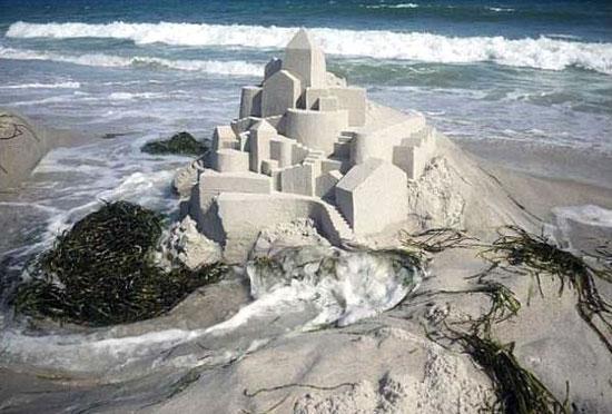 عکس قلعه شنی باشکوه و زیبا