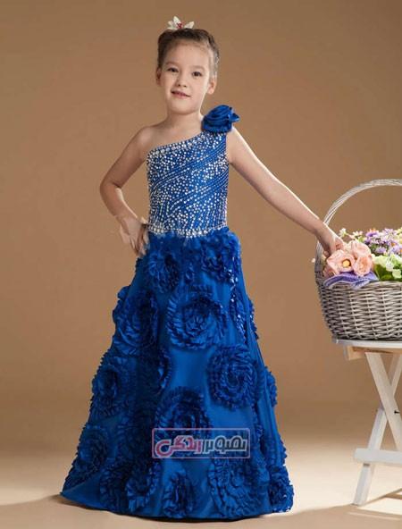 لباس مجلسی بچگانه - پیراهن مجلسی دخترانه