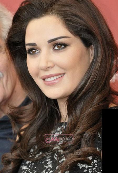 عکس سیرین عبدالنور خواننده لبنانی