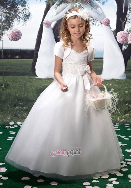 لباس بچگانه مدل لباس,کیف,کفش,جواهرات  , مدل های زیبای لباس عروس بچگانه