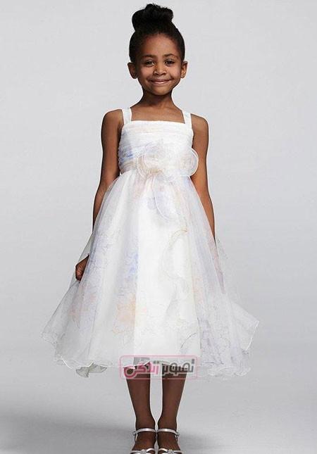 لباس مجلسی بچگانه - پبراهن عروس بچگانه