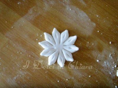 آشپزی آسان نکات آشپزی  , آموزش ساخت گل برای تزیین کیک با فوندانت