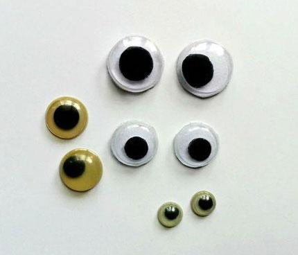 آموزش ساخت چشم متحرک - عروسک سازی