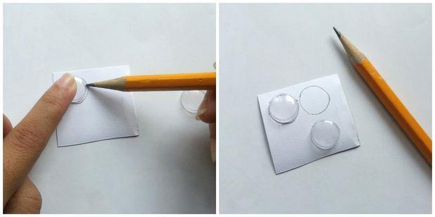 درست کردن چشم متحرک عروسک با مواد بازیافتی