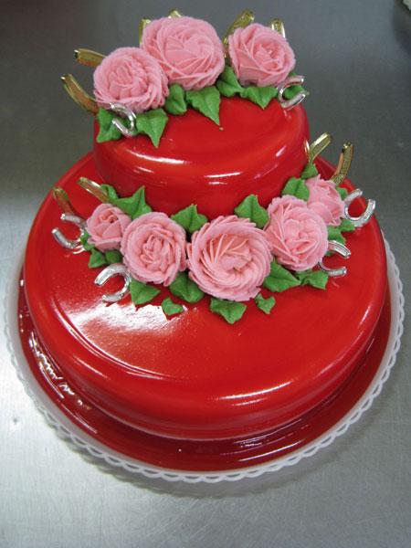 تزیین کیک عروسی - تزیین کیک تولد