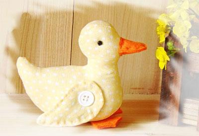 آموزش عروسک سازی  , آموزش دوخت اردک پارچه ای