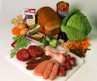 مواد غذایی حاوی آهن کدامند - منابع آهن