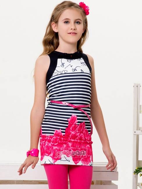 مدل لباس بچگانه - پیراهن تابستانی دخترانه