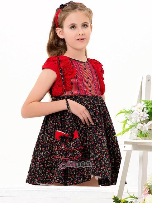 مدل پیراهن مجلسی دخترانه برند edenrobe
