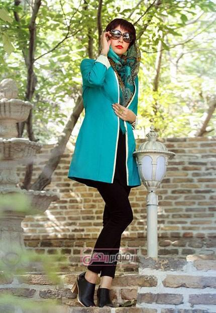 مدل مانتو 94 - مدل مانتو مجلسی دخترانه