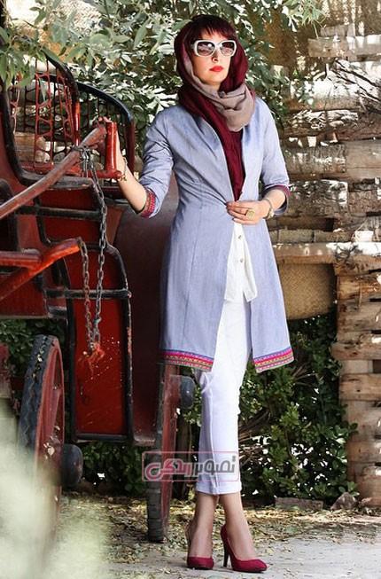 مدل مانتو بهاری - مانتو تابستانی دخترونه