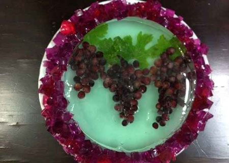 انواع ژله - ژله مجلسی - ژله میوه ای