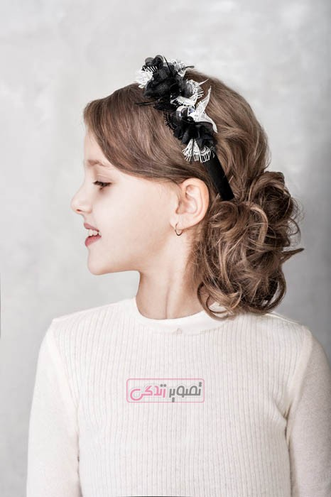 مدل موی دخترانه  - آرایش موی دخترانه, مدل بستن مو