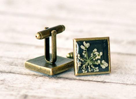 جواهرات رزینی - زیورآلات زیبای رزینی - گل خشک - گل طبیعی