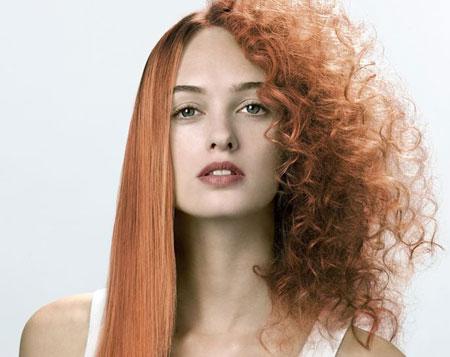 روش های صاف کردن موهای فر