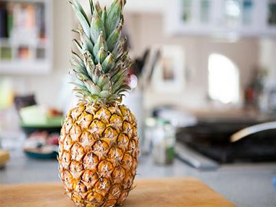 آموزش تصویری روش بریدن آناناس
