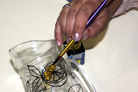 آموزش ویترای روی ظروف, آموزش مرحله ای ویترای