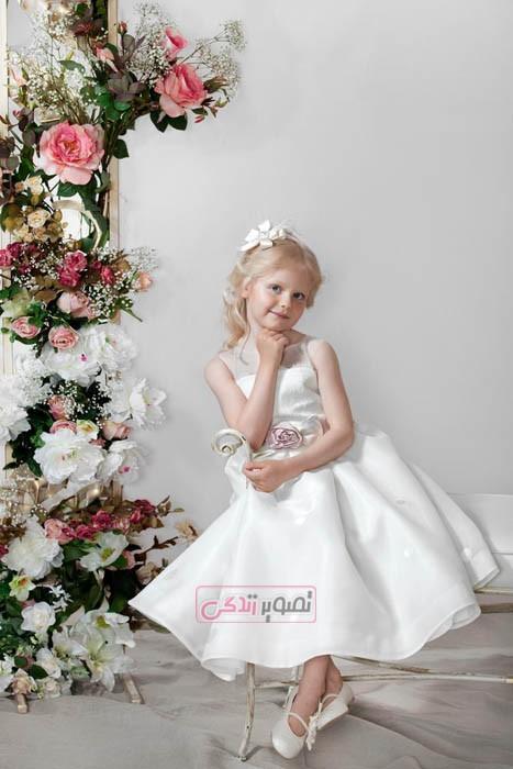 مدل پبراهن مجلسی دخترانه  - لباس عروس بچگانه