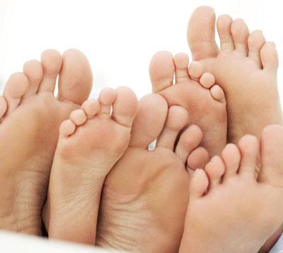 شکل پاها  - شخصیت شناسی