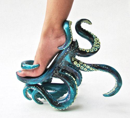طراحی های عجیب کفش - کفش های جالب