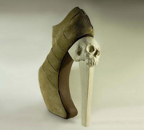 طراحی های عجیب کفش - کفش های عجیب جالب