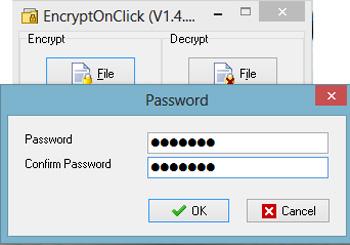 ترفندهای کامپیوتری, رمزگذاری فایل ها
