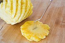 آشپزی آسان نکات آشپزی  , روش بریدن آناناس و تشخیص آناناس رسیده