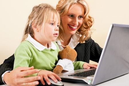 سایتهای مفید برای مادران و کودکان