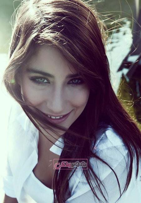 عکس هازل کایا هنرپیشه و خواننده ترکیه ای