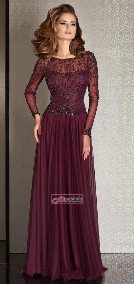 مدل پیراهن مجلسی clarisse - مدل لباس شب 2015