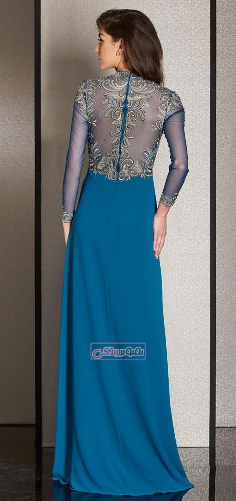 پیراهن مجلسی clarisse - مدل لباس مجلسی زنانه