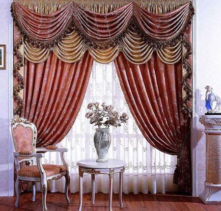 مدل پرده های سلطنتی, مدل پرده اتاق و پذیرایی شیک و مدرن