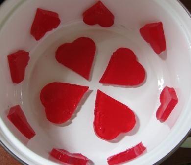 ژله قلبی (اموزش تصویری)