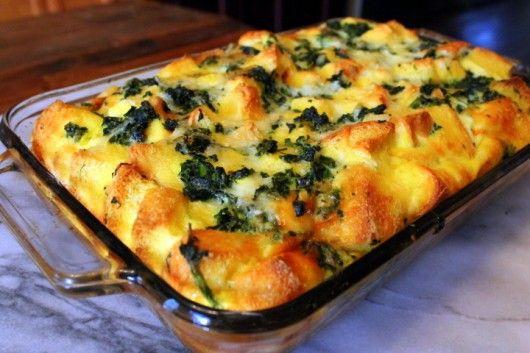 خوراک اسفناج پنیری (ساده و خوش مزه)