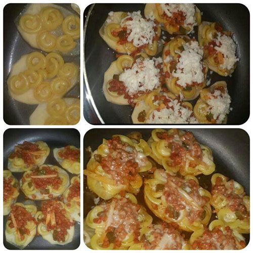 آشپزی آسان انواع غذاها  , طرز تهیه پاستا لقمه ای بدون فر