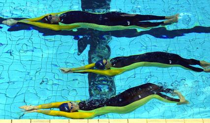 آموزش برگشت در شنای کرال پشت