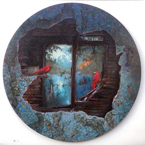 آثار نقاشی دینا برودسکی هنرمند بلاروسی