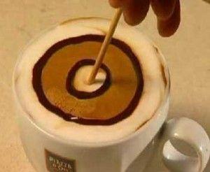آموزش قدم به قدم تزیین قهوه