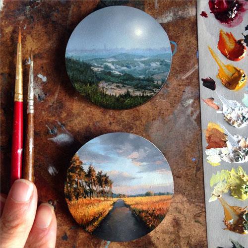 نقاشی های بی نظیر دینا برودسکی