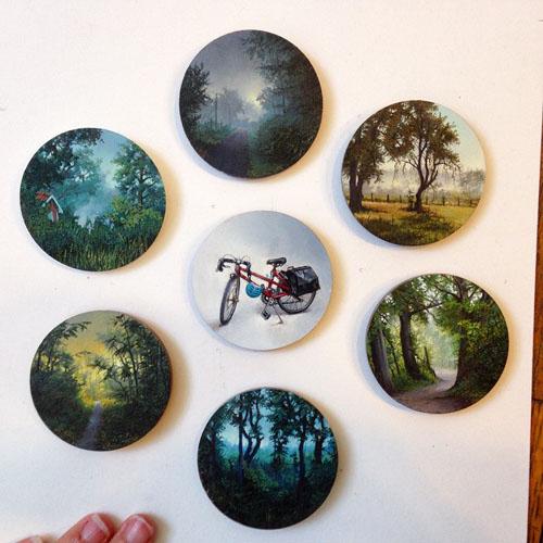 تصاویر دیدنی کلیپ و عکس  , نقاشی های دیدنی دینا برودسکی