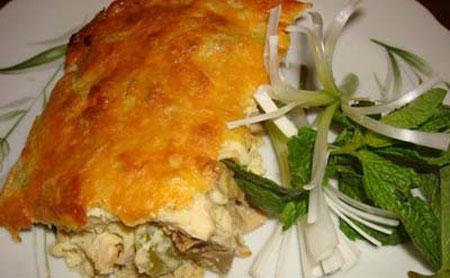 طرز تهیه سوفله مرغ و قارچ