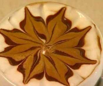 آشپزی آسان سفره آرایی  , آموزش تصویری تزئین قهوه + فیلم