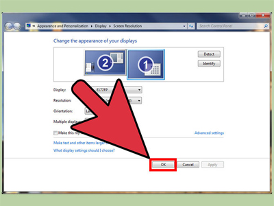 روش متصل کردن دو صفحه نمایش به یک کامپیوتر