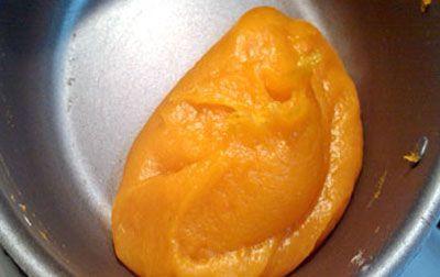 نان، شیرینی، دسر  , طرز تهیه حلوای هویج به شکل هویج