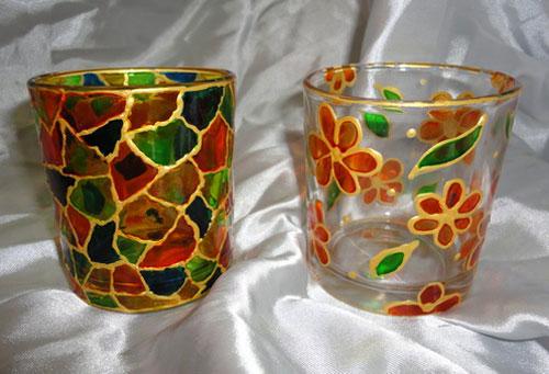 آموزش ویترای , نقاشی روی شیشه