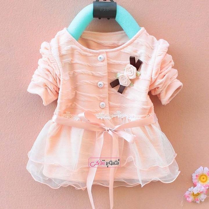 لباس بچگانه مجلسی - لباس بهاری