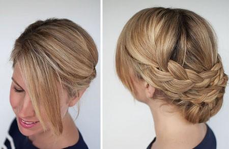آموزش آرایش مو - شینیون ساده مو